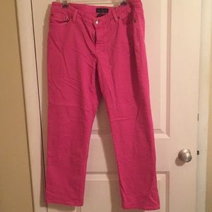 Ralph Lauren Jean Cropped Pants